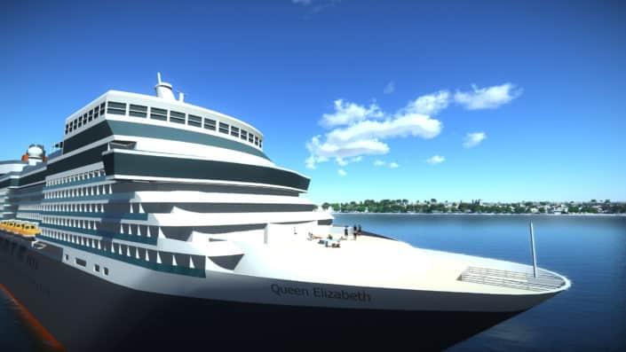 Cruise Quay 3D